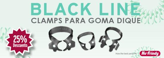 CLAMPS PARA GOMA DIQUE BLACK LINE  (Cupón de descuento: BLINE25% )