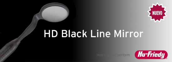 HD Black Line Mirror